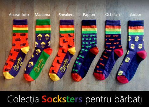 pachet sosete 6 perechi socksters